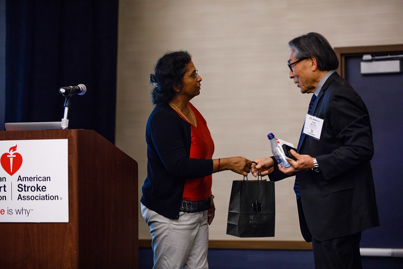 John Matsui speaks during Mentor of Women Luncheon