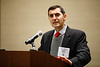 Umberto Campia speaks during Annual Buisiness Meeting and Networking Luncheon