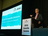 Mauro Giaccia, MD, PhD, speaks during Concurrent Session 3A: Emerging Cardiac Therapeutic Strategies
