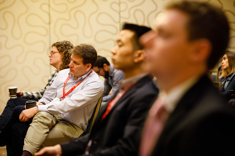 Attendees during Concurrent III C session