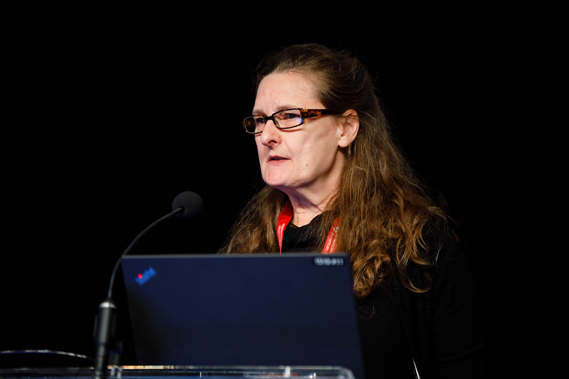 Catherine Shanahan speaks during Plenary III