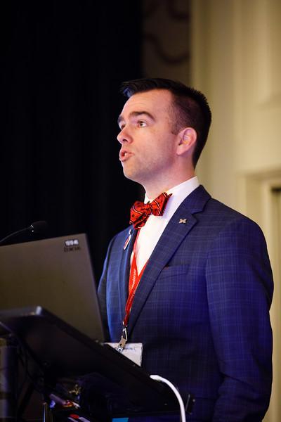 Geoffrey Barnes, MD, MSc, speaks during Concurrent III C session