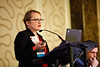 Marh Cushman, MD, MSc, speaks during Concurrent III C session