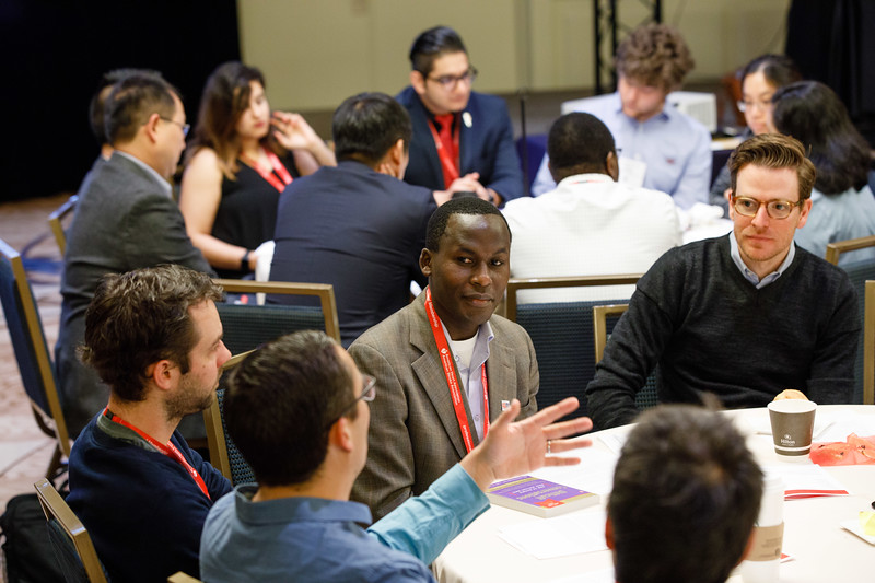 Attendees during Early Career Sessions
