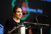 Mireille Ouimet speaks during Plenary Session IV