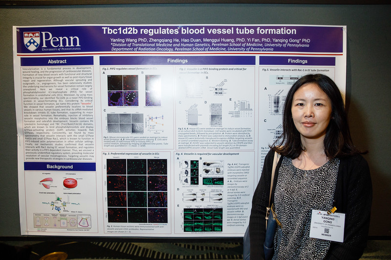Yanqing Gong during Poster Session III