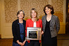 Nancy Webb, Stefanie Dimmeler, PhD, and Mary Sorci-Thomas during Plenary V - Invited Lecture Series