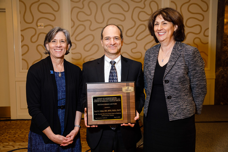 Nancy Webb, Paul M. Ridker, MD, MPH, FAHA, and Mary Sorci-Thomas during Plenary V - Invited Lecture Series