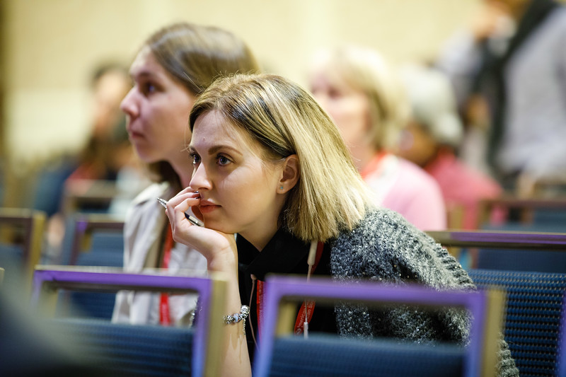 Attendees during Plenary V - Invited Lecture Series