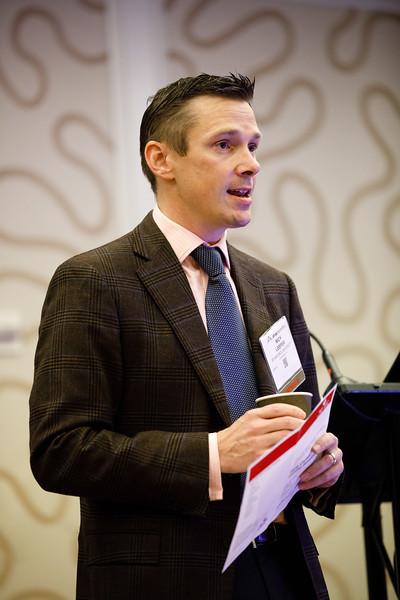 Nick Leeper speaks during Early Career Sessions