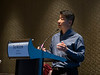 Sean Wu, MD speaks during the Early-Career Pre-Conference Sessions