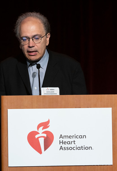 Nikolaos Frangogiannis, MD speaks during Concurrent Session 13A: Aging & Cardiovascular Risk
