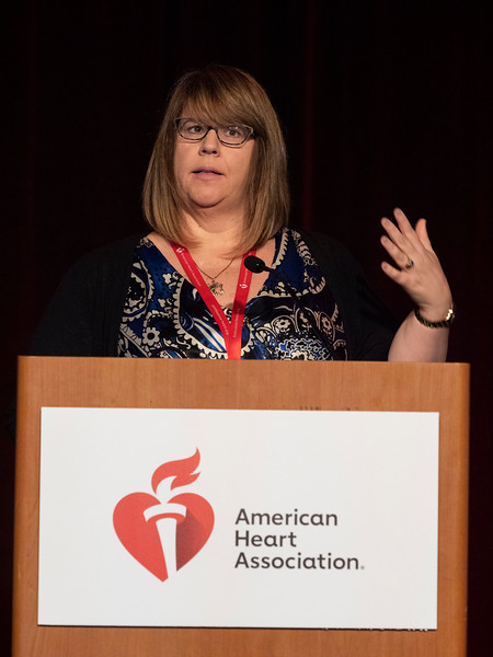 Isabelle DESCHENES, PhD speaks during Concurrent Session 8A: Cardiac Arrhythmias: From Basic Mechanisms to Precision Medicine