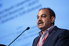 Matam Vijay-Kumar presents during Session 7: Recent Advances: Microbiome