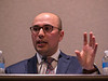 Mohamed Zayed, MD, PhD speaks during SPECIAL SESSION I