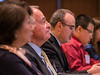 Attendees and speakers during afternoon sessions
