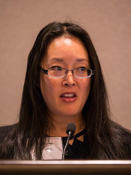 Karen Woo, MD speaks during SPECIAL SESSION I