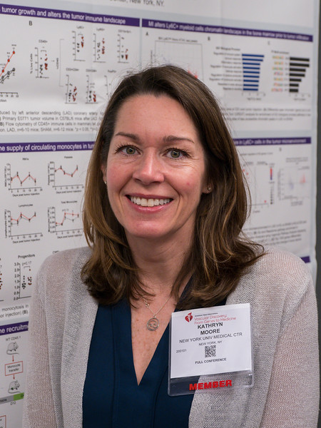 Kathryn J Moore (Sr Author for Graeme J Koelwyn) - Poster 603 - Acute Myocardial Infarction Accelerates Breast Cancer Progression Through Innate Immunity during Poster Session 3