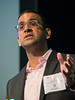 Vijay G Sankaran speaks during Plenary Session I: Innovative Methods in Vascular Discovery