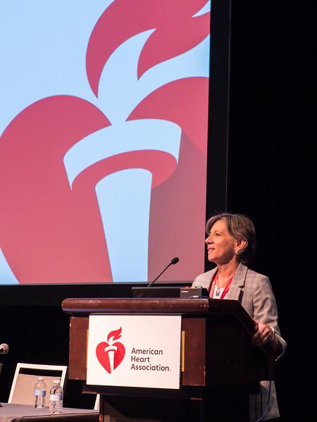Nancy R Webb, PhD speaks during Opening Session