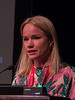 Emma Lundberg speaks during Plenary Session I: Innovative Methods in Vascular Discovery