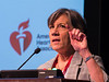 Nancy R Webb, PhD speaks during Opening Session
