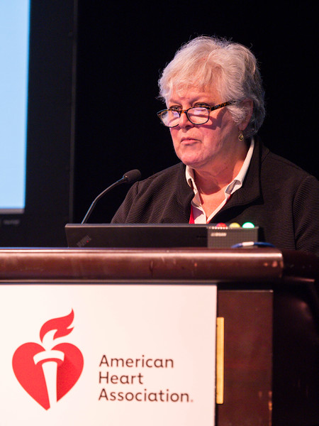 Lisa A Cassis speaks during Plenary Session I: Innovative Methods in Vascular Discovery