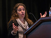 Rosandra Kaplan speaks during Plenary III Session