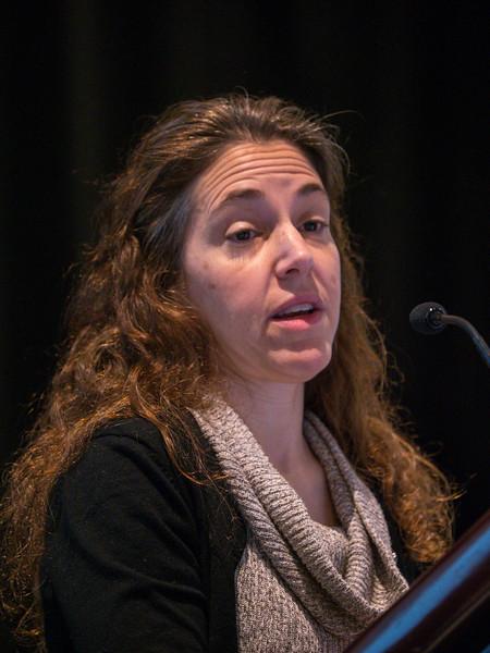 Rosandra Kaplan speaks during Plenary III Session