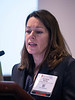 Kathryn Moore speaks during Plenary III Session