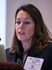Kathryn Moore speaks during Plenary III Session