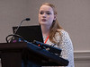 Kayte Andersen speaks during Session 06EC: Early Career 3-Minute Rapid Fire Oral Abstract Competition