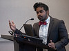 Nitin Kondamudi speaks during Session 06EC: Early Career 3-Minute Rapid Fire Oral Abstract Competition