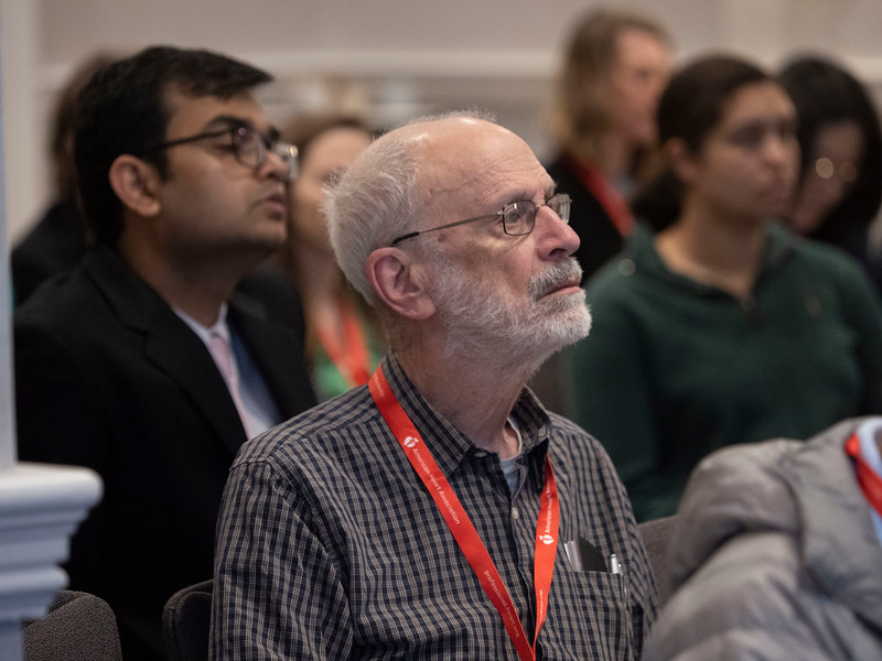Speakers and attendees during Session 06EC: Early Career 3-Minute Rapid Fire Oral Abstract Competition