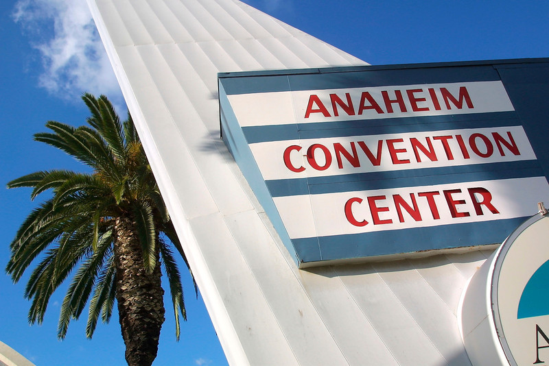"Anaheim, CA - AHA 2001 - Exterior views of the Anaheim Convention Center at the American Heart Association's Scientific Sessions 2001 in Anaheim, CA. Photo by © Todd Buchanan 2001©  <a href=""http://www.medmeetingimages.com"">http://www.medmeetingimages.com</a>"