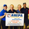 The AHEPA team, from left, John Tsirovasiles and Vice President Paul Hardy, both of Chelmsford, President Steve Michaelides of Tyngsboro, Ted Nikolopoulos of Dracut, George Xifaras of Andover and co-Chair Kosakis Poulakis