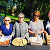 The Lovely Daughters of Penelope, from left, Theodora Stathopoulos and Toula Thomas of Dracut, Philoptochos President Mary Mourtzinos of Lowell, Connie Panos of Dracut and Dolly Michaelides of Tyngsboro