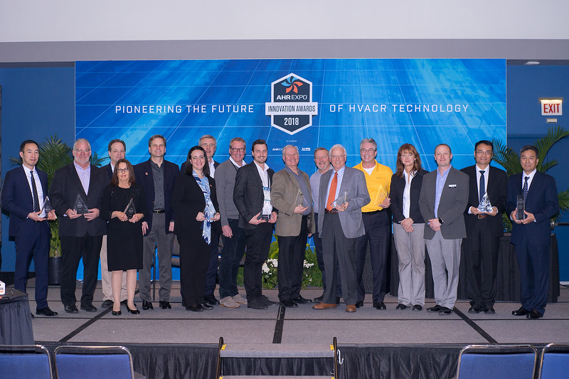 The 2018 AHR Expo Innovation Award Winners