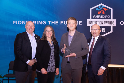 Energy Wall receives the AHR Expo Innovation Award for Ventilation