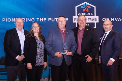 Anvil International receives the AHR Expo Innovation Award for Plumbing