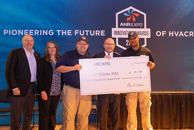 Atlanta Police Athletic League receives AHR Expo donation