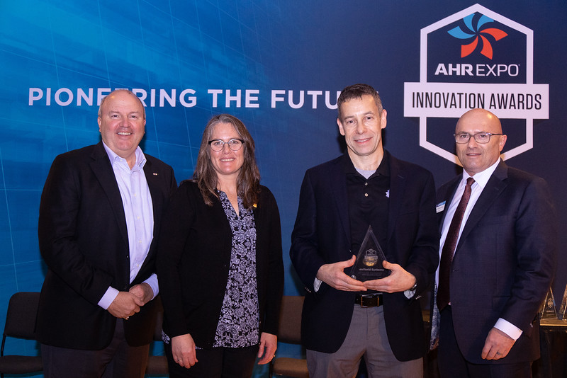 EnVerid Systems receives the AHR Expo Innovation Award for Green Building