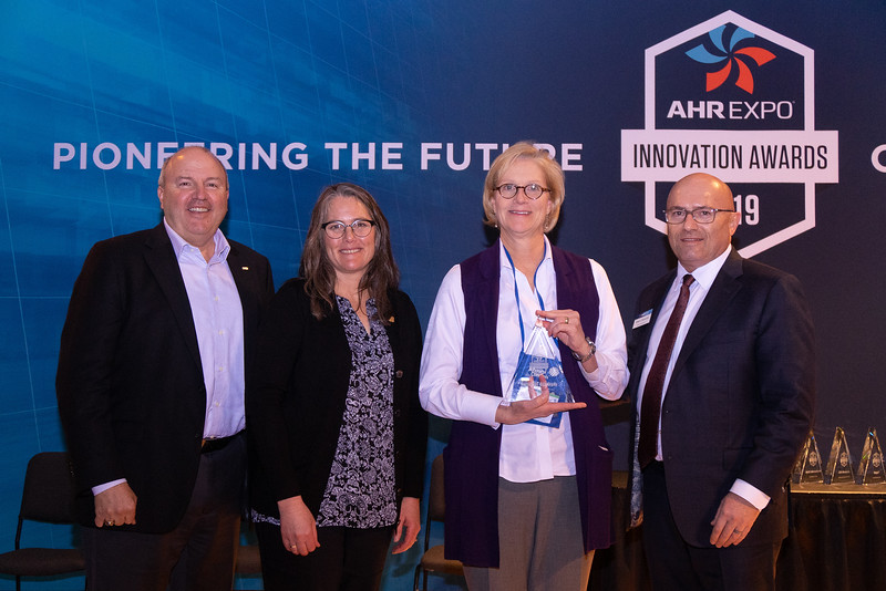 Johnson Controls receives the AHR Expo Innovation Award for Cooling