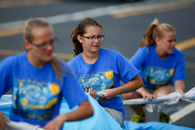 Marching Band 1st Performance 20140816-0006