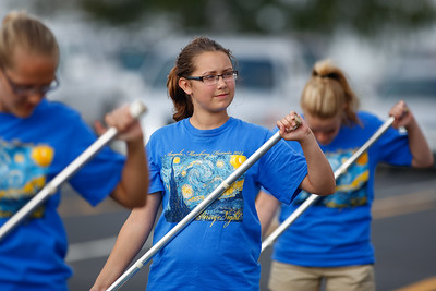 Marching Band 1st Performance 20140816-0022