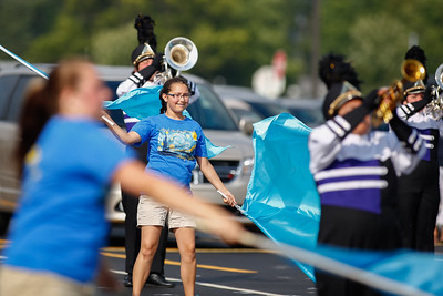 Marching Band 1st Performance 20140816-0045