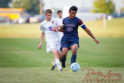 AMS Soccer vs Garrett 20140903-0090