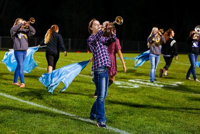 Band Senior Night 20151009-0146
