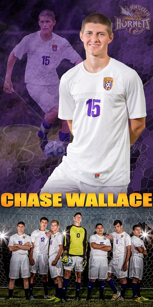 Chase Wallace Soccer Banner