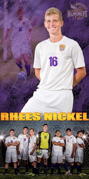 Rhees Nickel Soccer Banner